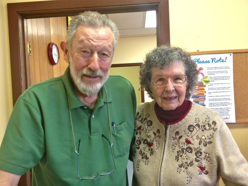 Tony Bent and Pat Barcelona have each donated more than 30 years of service.